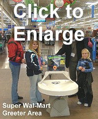 Wal-Mart Wishing Well